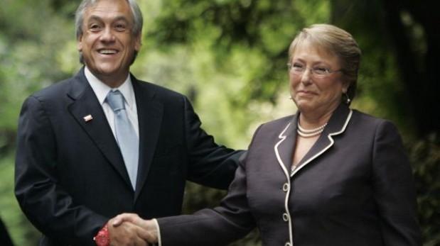 Bachelet y Piñera alinean posiciones frente al fallo de La Haya
