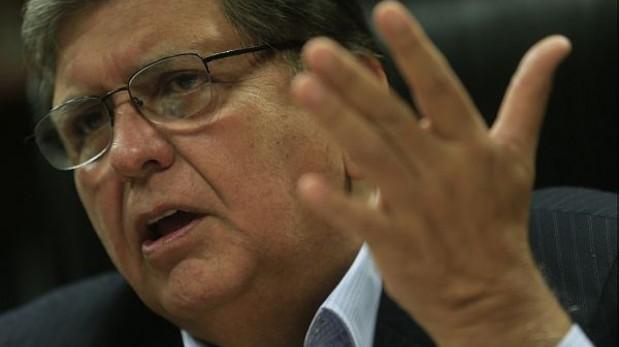 Alan García pide nulidad de informes de la megacomisión