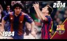 Messi y Maradona, una extraña coincidencia 30 años después