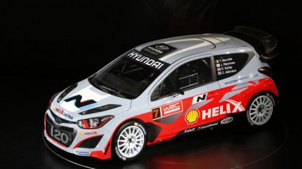 Hyundai presentó el i20 WRC para el Mundial de Rally