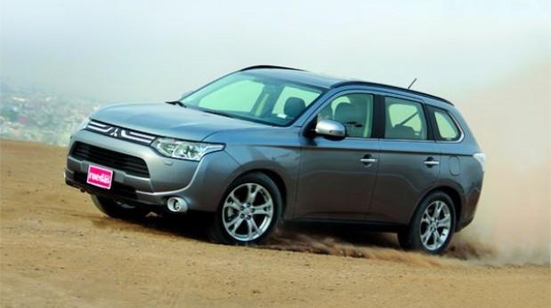 TEST: Mitsubishi Outlander