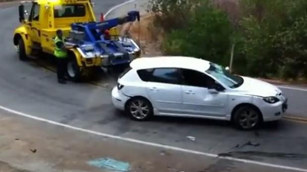 VIDEO: Como no remolcar un auto