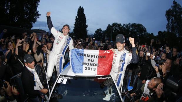 Ogier es el nuevo campeón del WRC