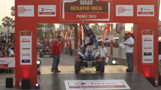 Se dio la partida en el podio inaugural del Desafío Inca