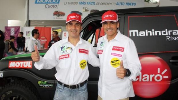 Ramón Ferreyos ya esta listo para el Dakar Series
