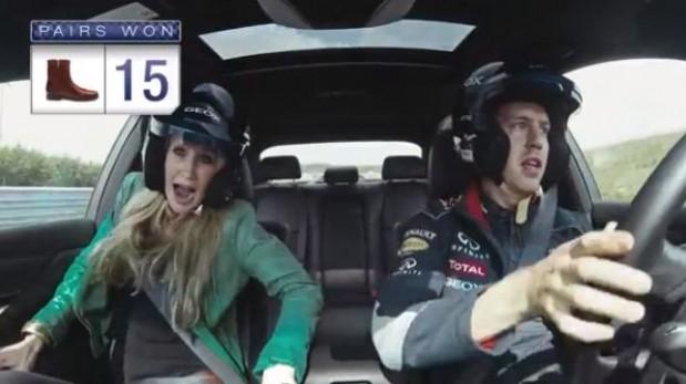VIDEO: ¿Podrías no gritar con Vettel al volante?