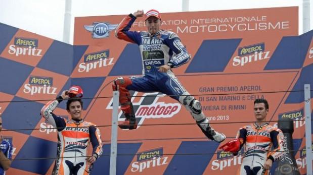 Lorenzo ganó en San Marino y se acerca a Márquez