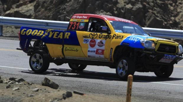 Diego Weber sufrió despiste en Caminos del Inca