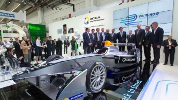 Presentan el monoplaza de la Fórmula E