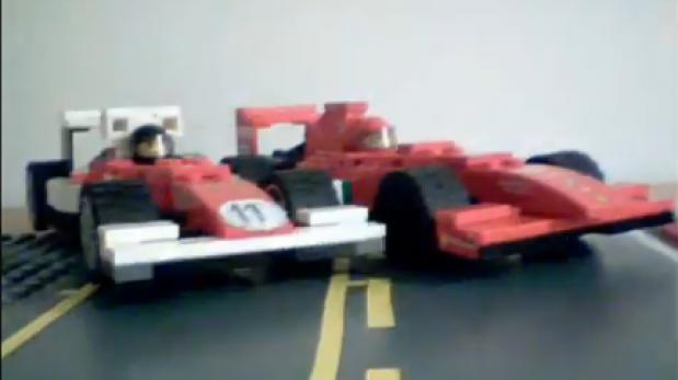 VIDEO: Tráiler de 'Rush' en base a Lego