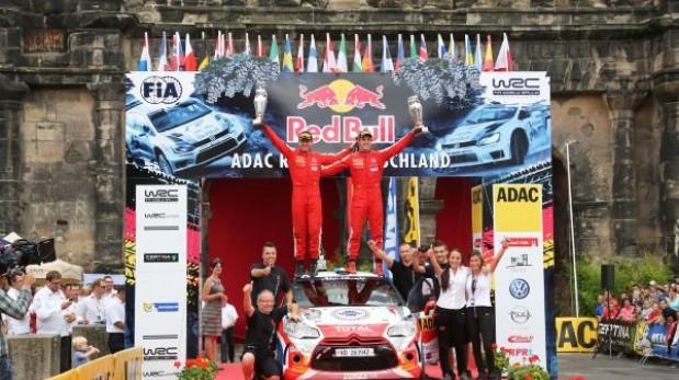 Sordo ganó su primer rally del WRC en Alemania