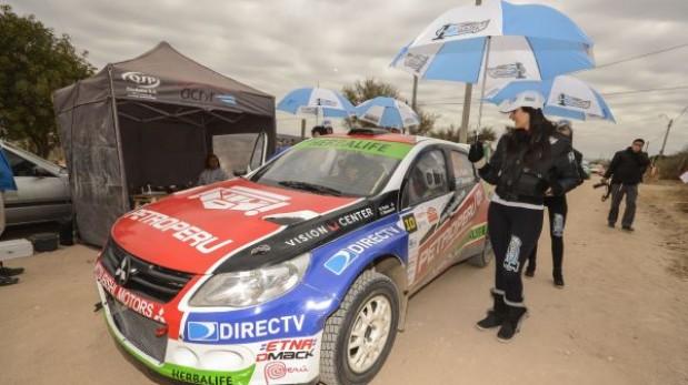 Fuchs inicia su participación en el rally Centenario en Argentina