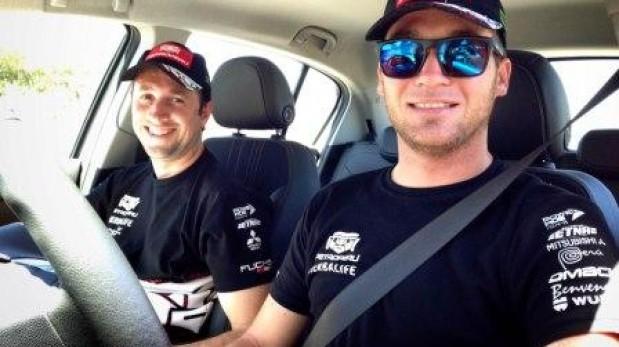 Nicolás Fuchs inició la hoja de ruta para el Rally Italia