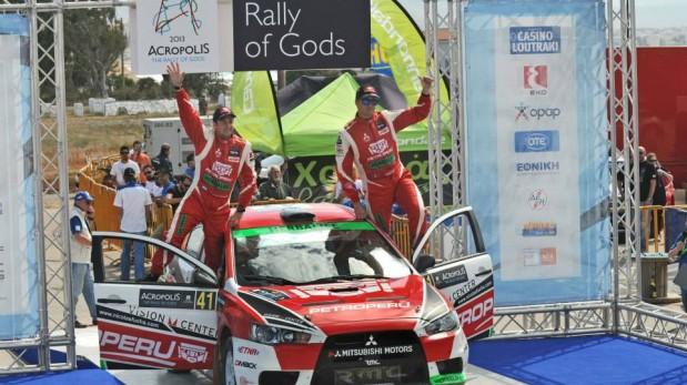 Nicolás Fuchs ganó en Grecia y mantiene el liderato en el Mundial de Rally