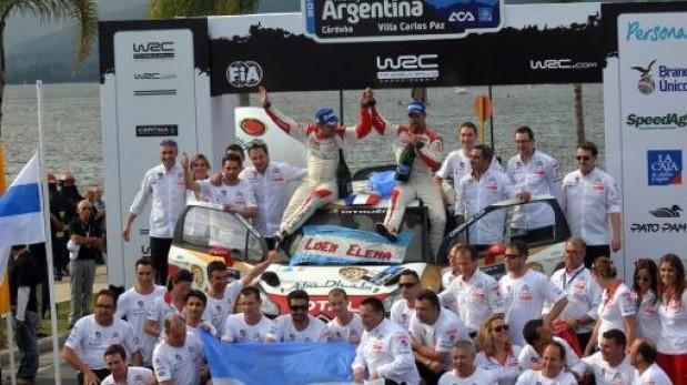 Loeb se impuso en Argentina