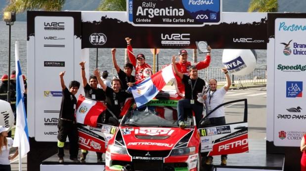 Fuchs logró victoria en Argentina