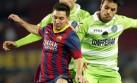 Messi reapareció con un doblete: Barza goleó 4-0 al Getafe