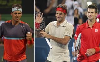Nadal, Federer y Nole ya tienen rivales para el Australian Open