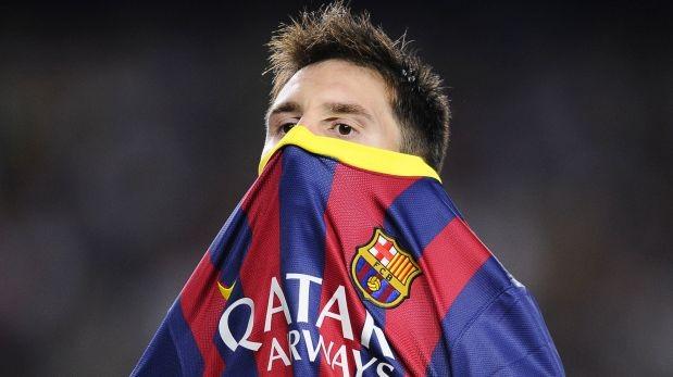 Lionel Messi fija su mirada asesina sobre el Atlético de Madrid