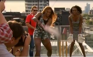 Serena Williams jugó cricket previo al Abierto de Australia