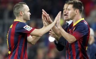 Iniesta no acompañará a Messi para la entrega del Balón de Oro