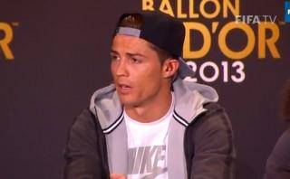"""Cristiano: """"No voy a mentir, quiero ganar el Balón de Oro"""""""
