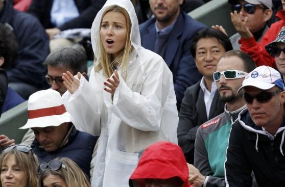 Las bellas novias de los top del tenis mundial
