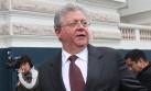 Agois: Mohme se dio cuenta de peligro de iniciativa de Dammert