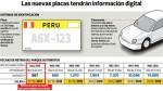 Desde junio los taxis de Lima deberán tener placas formales - Noticias de luis quispe candia