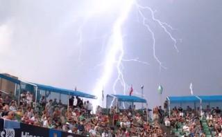 El impresionante rayo que se vio en el Open de Australia