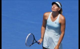 Sharapova cayó ante Cibulkova y fue eliminada de Australia