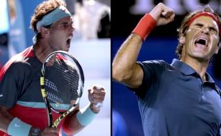 Nadal vs. Federer: hora y transmisión del gran partido del año