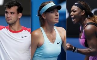 Dimitrov, el tenista por el que Sharapova y Serena pelearon