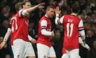 Arsenal goleó 4-0 al Coventry y avanzó a octavos de FA Cup