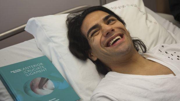 """Médico de Falcao: """"En tres meses y medio podría correr"""""""