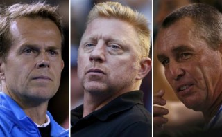 El regreso de Becker, Lendl y Edberg