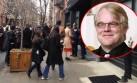 Curiosos y fans llegan hasta la casa de Philip Seymour Hoffman