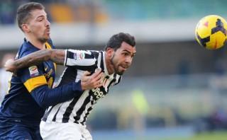 Juventus ganaba 2-0 y Hellas Verona empató a los 94'