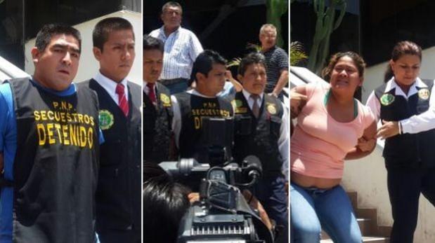 Delincuentes de la 'Cruz del Norte' fueron presentados por PNP