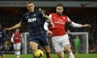 Arsenal empató 0-0 con el Manchester United y no será líder