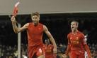 El Liverpool venció en el último minuto al colero Fulham