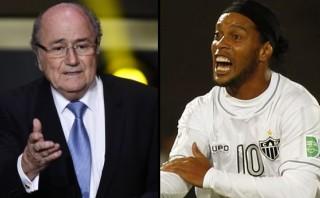 Desde Blatter hasta Ronaldinho: unidos contra el racismo