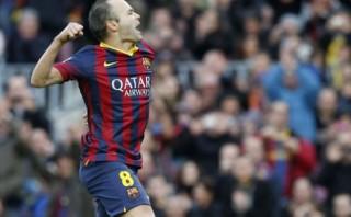 Iniesta renovó con Barcelona hasta que se retire