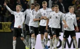Alemania y Suiza sellaron su clasificación al Mundial