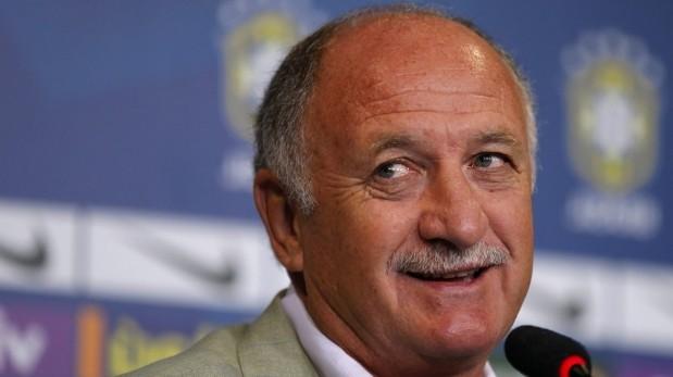 """Scolari: """"Estoy convencido de que Brasil ganará el Mundial"""""""