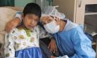 Madre donó su riñón a su hijo después de 5 años de diálisis
