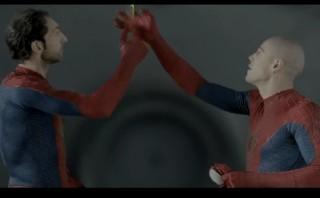 Futbolistas españoles mostraron habilidades al estilo Spiderman
