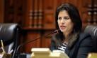 Omonte negó que ser ministra genere división en Perú Posible