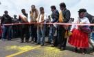 Humala inauguró obras y se fue sin declarar a la prensa