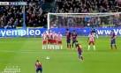 Lionel Messi y el golazo de tiro libre que le anotó al Almería